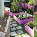 25+ Garden Bed Edging Ideas