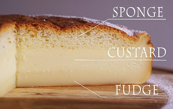 3 Layer Magic Custard Cake Recipe