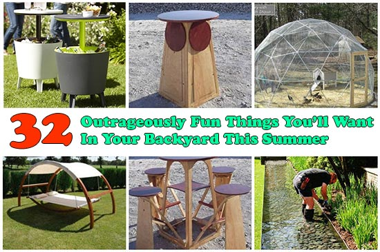 32 Outrageously Fun Things You'll Want In Your Backyard This Summer