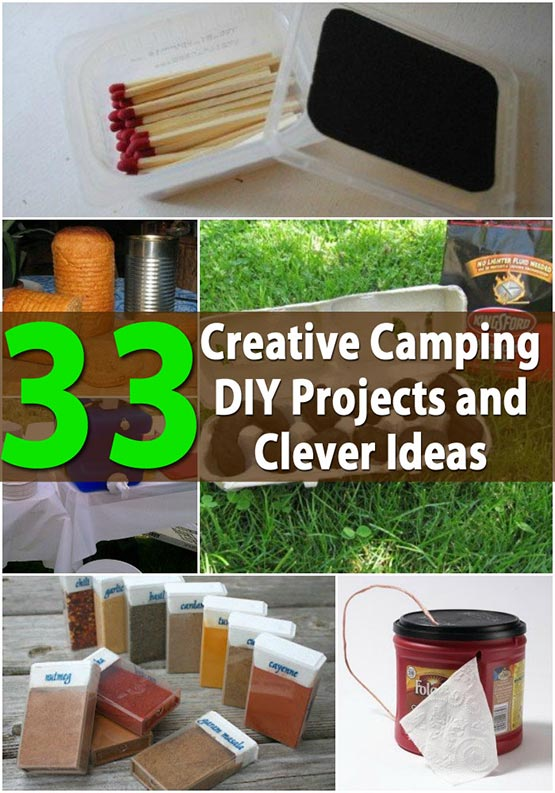 33 Most Amazing Homecoming Makeup Ideas: 33 Most Creative Camping DIY Projects And Clever Ideas