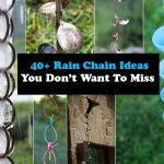40+ Rain Chain Ideas -You Don't Want To Miss