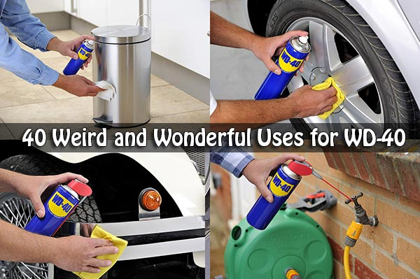 40 Weird and Wonderful Uses for WD-40