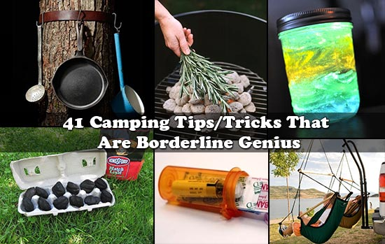 41 Camping Tips/Tricks That Are Borderline Genius