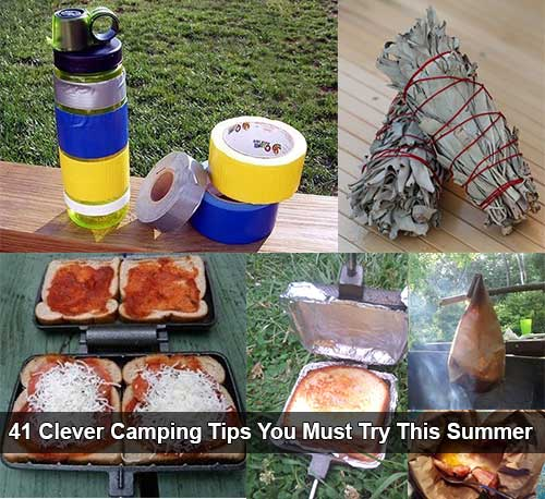 41 Clever Camping Tips You Must Try This Summer