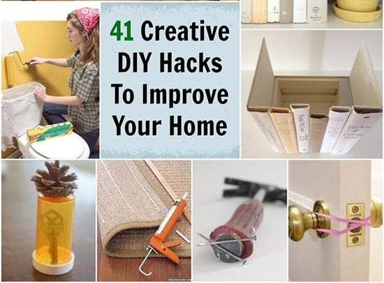 41 Creative DIY Hacks To Improve Your Home