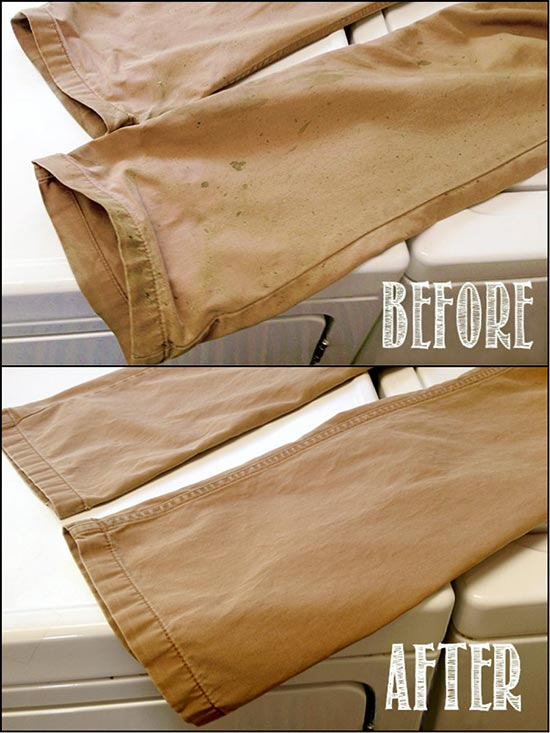 Grass Stain Remover! The Ultimate DIY Laundry Spot Remover