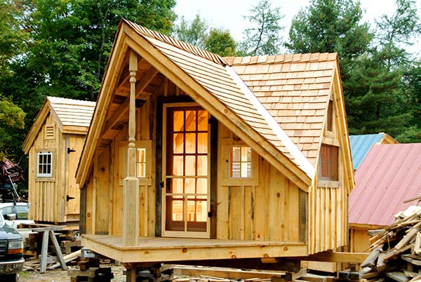 6 Free Plans – Tiny Houses/Cabins/Shed working Offices