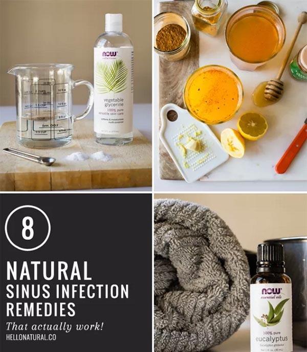 8 DIY Sinus Busters