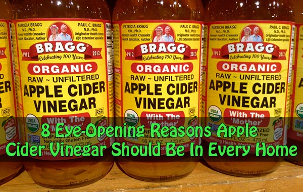 8 Eye-Opening Reasons Apple Cider Vinegar Should Be In Every Home
