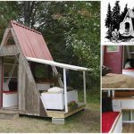 A Two-Story A-Frame Cabin For $1200