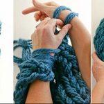 Arm Knitting Photo Tutorial