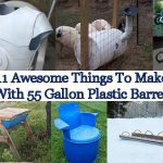 11 Things You Can Make Using 55 Gallon Plastic Barrels