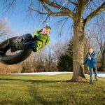 How To Make Your Own Safe Backyard Tire Swing