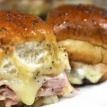 Brown Sugar Hawaiian Roll Ham Sliders W/vt Cheddar