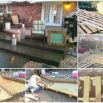 How To Build A Large Wooden Deck Using Pallets