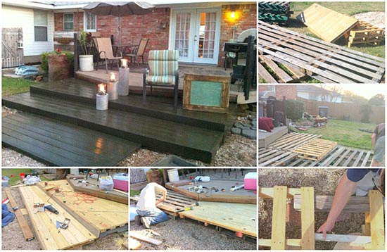 Build-A-Large-Wooden-Deck-Using-Pallets