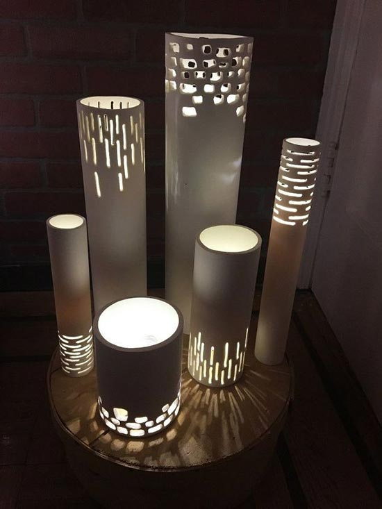 Build Your Own PVC Pipe Lamp