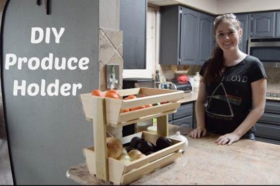 How To Build a Easy Fruit/Veggie Holder