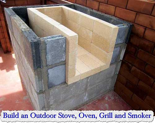 Outdoor Stove, Oven, Grill and Smoker