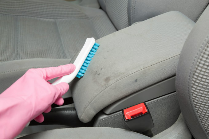 Car Upholstery Stain Remover