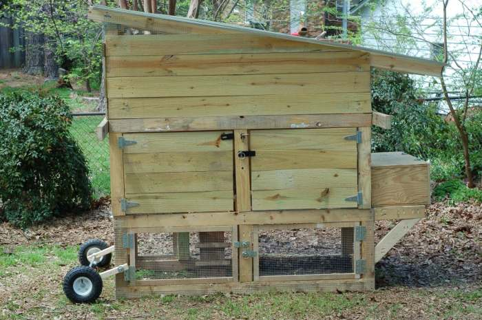 Chicken Coop Made From Reclaimed Timber