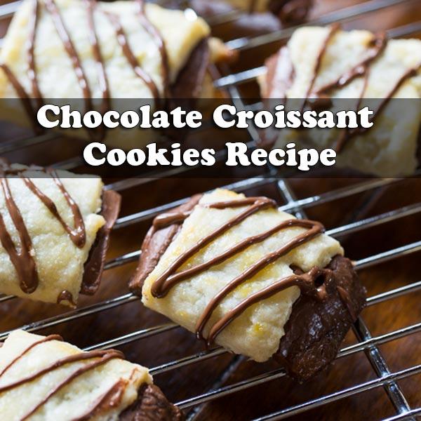 Chocolate Croissant Cookies Recipe