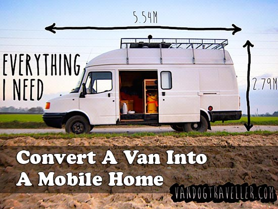 Convert A Van Into A Mobile Home