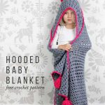 Crochet A Hooded Blanket For Kids – Free Pattern
