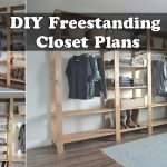 DIY Freestanding Closet Plans