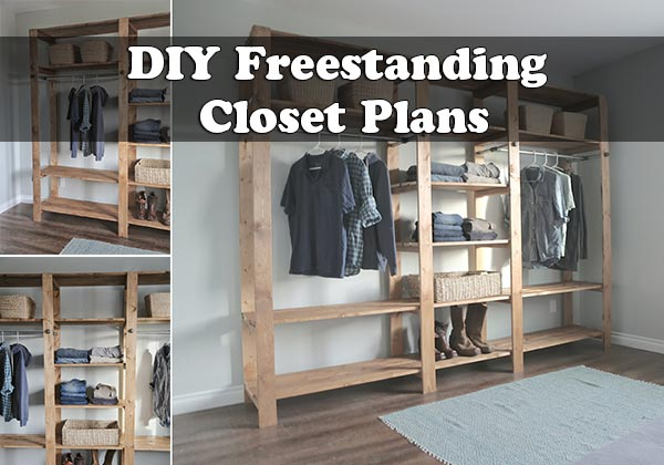 Diy Freestanding Closet Plans