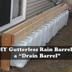 "DIY Gutterless Rain Barrel – a ""Drain Barrel"""