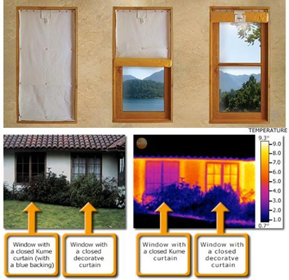 DIY Insulating Curtains That Cut Heat Losses Through Windows By 50%