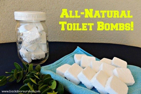 DIY: Natural Toilet Cleaning Tabs