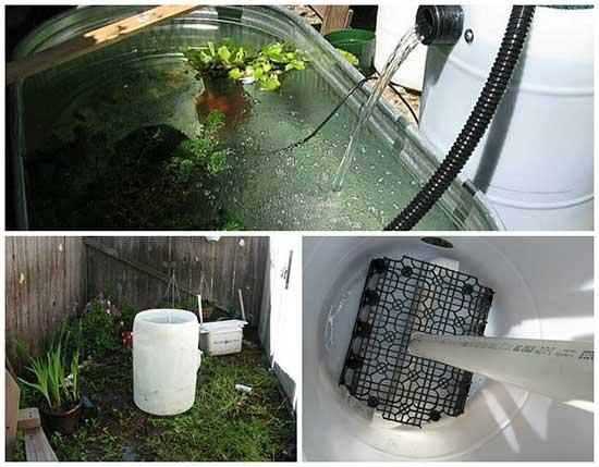 Diy pond filter tutorial for Pond pre filter diy