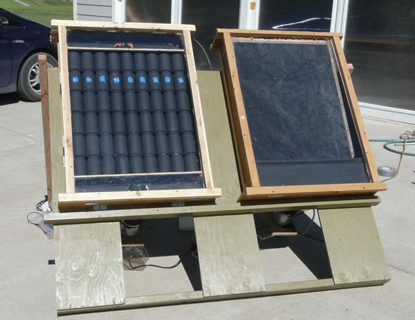 DIY Solar Air Heating Collectors: