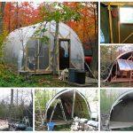 DIY Temporary, Affordable, all-season Dwelling