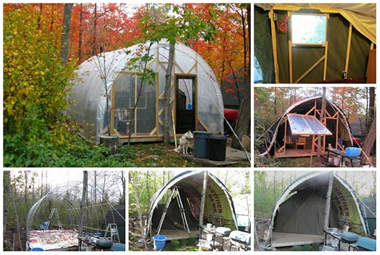 DIY Temporary, Affordable, all-season Dwelling
