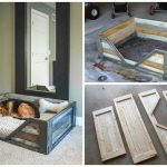 DIY Wooden Dog Bed