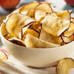 Dehydrated Peach Chips