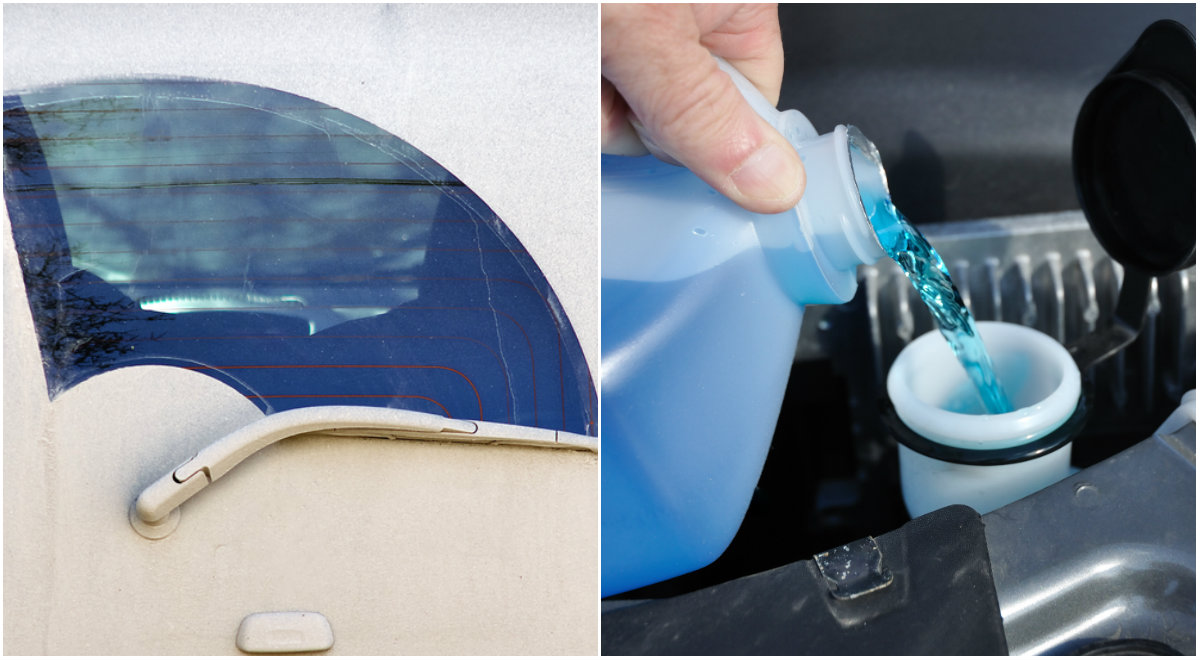 DIY WASHER FLUID