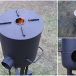 Do It Yourself Heavy-Duty Rocket Stove