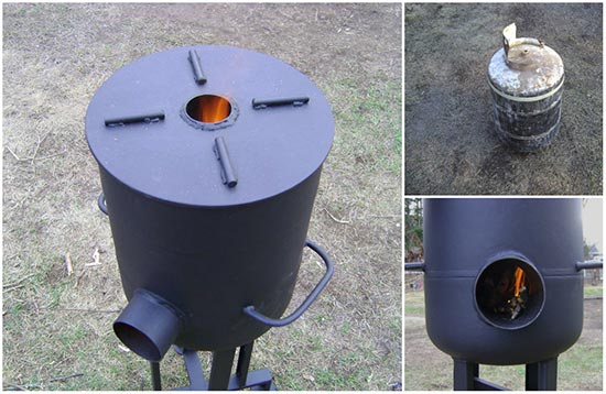 Do it yourself heavy duty rocket stove for Heavy duty rocket stove
