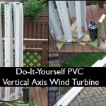 Do-It-Yourself PVC Vertical Axis Wind Turbine