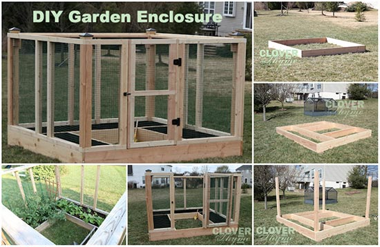 Do It Yourself Secure Garden Enclosure