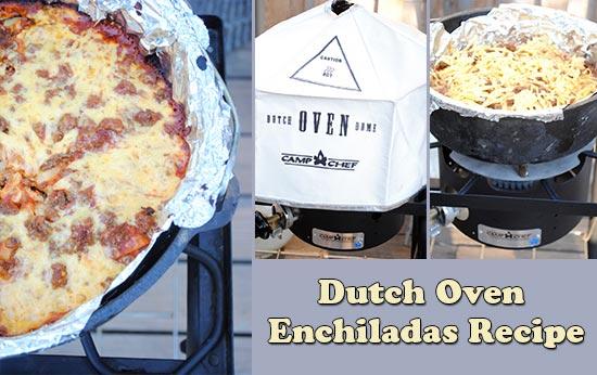 Dutch Oven Enchiladas Recipe