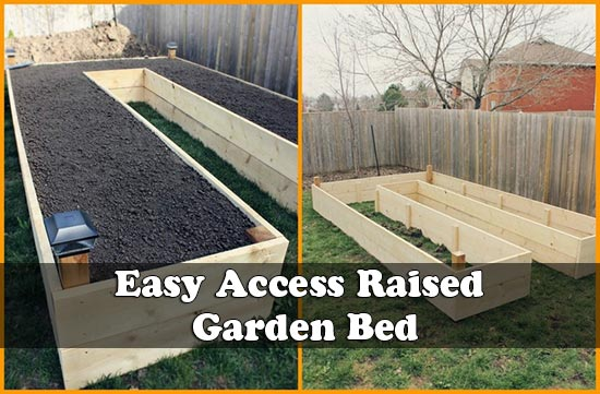Easy Access Raised Garden Bed