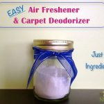 Homemade Room & Carpet Deodorizers