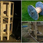Empty Wire Spools? Here's An Idea To Use Them