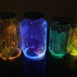 Glow in the Dark Celestial Mason Jars