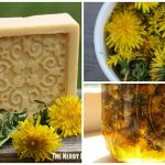 Handmade Dandelion Soap (Crock Pot Method)